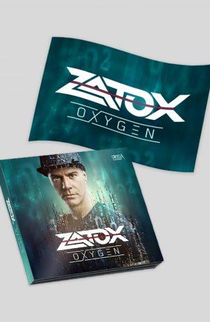 Zatox – Oxygen CD + Flag